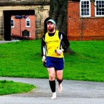 runner set to run london marathon, barefoot!